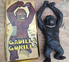 Chemtoy Gadilla Gorilla jiggler (Keffpristine1) Tags: vintage king gorilla ben rubber kong cooper jiggler