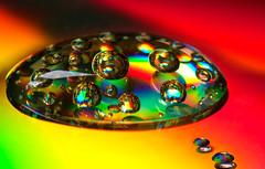 Pepsi Colour (asheers) Tags: colour macro canon rainbow bubbles 100mm bubble droplet hmm abstracteffects macromondays