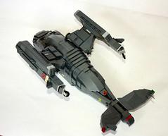 SRTAV04 (Babalas Shipyards) Tags: lego space military air craft shuttle scifi vtol dropship