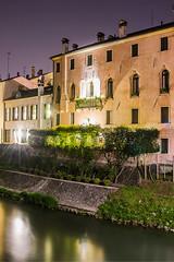 Padua night sesh #1 - Dwelling (MetzHC) Tags: city longexposure nightphotography urban building water night photoshop nikon tripod padova padua veneto