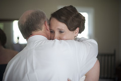 Hug from Dad (Giarc80HC) Tags: wedding light 50mm bride hug natural fatherofthebride preparations