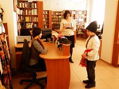 "Spectacolul ""Sub cciula lui Gugu"" (Biblioteca Adam Mickiewicz) Tags: copii spectacol carti bibliotecapolona centrulandries spiridonvangheli"