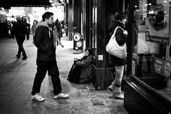 Romani (stephen cosh) Tags: life street city people blackandwhite bw sepia mono scotland town glasgow candid streetphotography rangefinder reallife humancondition blackandwhitephotos 50mmsummilux blackwhitephotos leicam9 stephencosh leicammonochrom leicamm