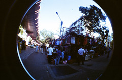 Mumbai Streetlife 2 (raspberry dolly) Tags: india film lomography fisheye mumbai lomofisheye