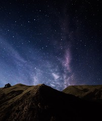 Beyond the Hills (Kevin MacLeod (unranged.com)) Tags: california longexposure northerncalifornia night stars landscape nikon wideangle galaxy bayarea fullframe ultrawide d800 14mm samyang kevinmacleod nikond800 samyang14mmf28 d800e nikond800e unrangedcom