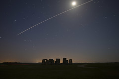 EXPLORED - Stonehenge ISS Pass (Tim Burgess : Perfexeon) Tags: sky stars stonehenge wiltshire iss internationalspacestation earthandspace peopleandspace bestnewcomer competition:astrophoto=2013