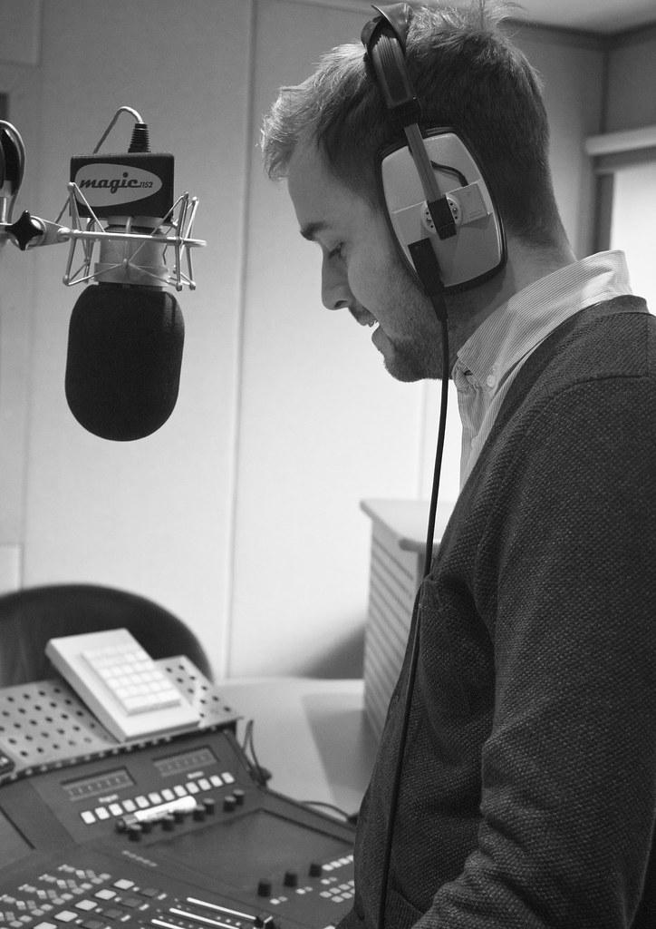 Radio Presenter Zoe Conway1 Tags Boy White Man Black Radio Canon Studio Magic