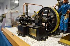Machine  vapeur mono-cylindre (zigazou76) Tags: machine rouen chs moteur expotec vapeur modlerduit monocylindre sallepierregervais