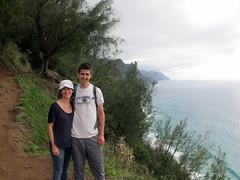 Along the Kalalau Trail (Canadian Veggie) Tags: vacation me hawaii emily trail kauai kalalau haena napalicoast kalalautrail haenastatepark