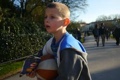 crisps (elephantcamera) Tags: street boy people london basketball photography path walk crisps confused walkers spnp