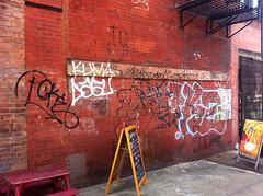 kz (taste-maker) Tags: old nyc school graffiti tags poke letter straight outline kz kuma inkhead throwie