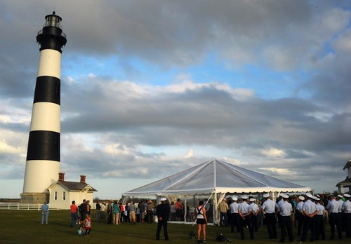 Bodie Island Lighthouse - Relighting Ceremony, April 18, 2013