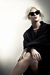 Ra (forayinto35mm) Tags: girl sunglasses contrast studio sony coat redlipstick lipstick carlzeiss womaninsunglasses sonyalpha womanincoat sonya77 girlinstudio