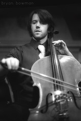 the cellist (BryanBowman) Tags: portrait white black film 35mm photography cello wytold