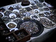 Indian Antique Coin Shop (nomadictraveler) Tags: shop coin coins streetmarket rupees indiancoins antiquecoins coinshop oldrupees