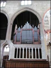 Gloucester - St Mary de Crypt (pefkosmad) Tags: church interior pipes gloucestershire organ gloucester stmarydecrypt