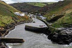 Boscastle harbour (ian mckinley) Tags: cornwall boscastle