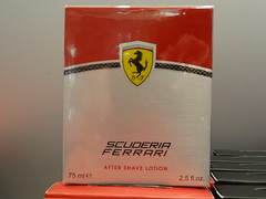 We all can't own a Ferrari, but now we can smell like one... (Hazboy) Tags: vacation milan sports car store europa europe italia milano cologne ferrari shave april after scuderia scent lotion fragrance ialy 2013 hazboy hazboy1 hazboyeuro