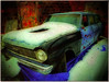 """""""Chevy No Go"""" (Dave Linscheid) Tags: usa snow texture chevrolet car minnesota automobile chevy textured butterfield stationwagon allxpressus bestevercompetitiongroup"""