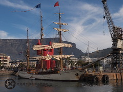"The ""EUROPA"" in Cape Town (jan-krux photography - thx for 3 Mio+ views) Tags: ocean travel southafrica europa ships antarctica capetown bark tallships sailingships e5 westerncape zd 1260mm"
