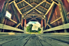 Covered Bridge (papalars) Tags: bridge newengland newhampshire coveredbridge papalars andrewlarsenphotography