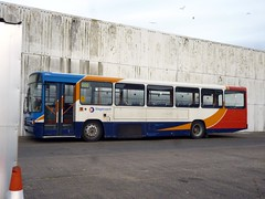 Stagecoach North West 20965 R965XM Carlisle bus depot (brucekitchener) Tags: volvob10m stagecoachnorthwest alexanderps