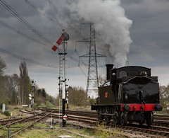 Coal Tank (alanrharris53) Tags: train power engine steam swithland greatcentralrailway shunting 1054 gcr coaltank