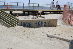 Sign in Point Pleasant, New Jersey (ktmqi) Tags: storm beach nature newjersey sand sandy hurricane damage jerseyshore atlanticocean oceancounty theshore superstorm