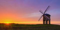 Chesterton Windmill Sunrise (jactoll) Tags: windmill rural sunrise dawn nikon nikkor chesterton warwick warwickshire chestertonwindmill fosseway 1685mm d7000 jactoll nikcolorefexpro4