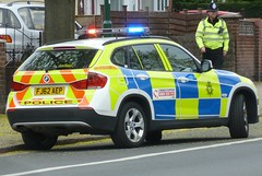 Nottinghamshire Police BMW X1 Response Car FJ62 AEP (NottsEmergency) Tags: city nottingham uk britain police tram cop bmw vehicle law policestation siren nottinghamshire midlands response checkpoint 999 radford bluelights notts policeofficer eastmidlands rpu responder constabulary policing trafficstop nottspolice trafficunit roadspolicingunit nottinghampolice bmwx1 nottinghamshirepolice