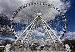 A Wheel Perspective :) (Nickerzzzzz :)) Tags: perspective plymouth hoe bigwheel 1022usm canon60d nickerzzzzz nickudy