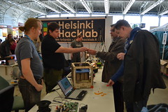 Helsinki Hacklab at Model Expo 2013