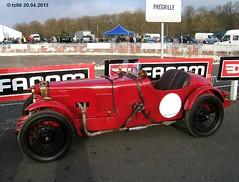 034-02 (tz66) Tags: car vintage adams fiat special 509 revival prewar montlhery 2013
