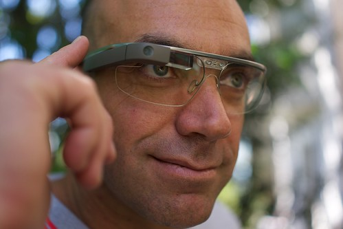 How Google glass will change EO