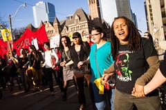 May Day march | Toronto (Fifth Business Photography) Tags: city toronto day may solidarity mayday noii solidaritycity may1to