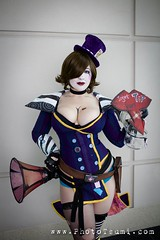 Mad Moxxi (BelleChere) Tags: game costume video cosplay mad bellechere borderlands c2e2 moxxi