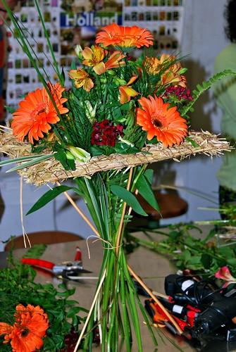 Taller de 'Flors amb estructures' - 'Flores con estructuras' - Jukka Heinonen i AFCT - abril 2013