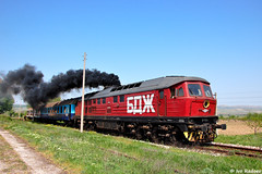 Smoky depart (Rivo 23) Tags: train diesel engine railway class bulgaria 07 ludmilla bdz 07032
