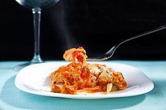 Vegetarian lasagna (Massimiliano Ranauro) Tags: stilllife food macro dinner canon lunch photography lights tomatoes vegetarian taste zucchini lasagna foodphotography canonef24105mmf4isusm canoneos50d massimilianoranauro