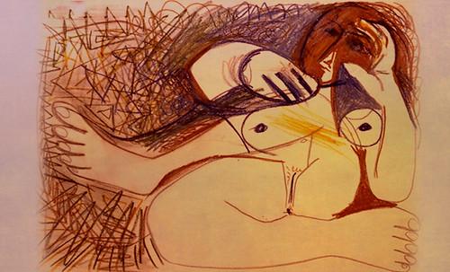 "Majas, homenajes de Francisco de Goya y Lucientes (1802), Eugéne Delacroix (1826), Amadeo Modigliani (1916), Pablo Picasso (1906), (1931), (1959), (1964). • <a style=""font-size:0.8em;"" href=""http://www.flickr.com/photos/30735181@N00/8747971306/"" target=""_blank"">View on Flickr</a>"