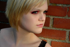 7a (RebeccaLynnPhotography8) Tags: pink portrait female photoshop makeup cannon expressive editing piercings artistry