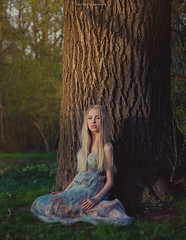 woody (viktoriyalunchenkova) Tags: morning sun girl beautiful sunshine russia moscow sakura freshness