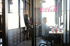 141/365 our space (ajbrusteinthreesixfive) Tags: sf up start canon project aj golden three photo office gate san francisco mark space iii year coke startup 5d cocacola 365 accelerator yong photoproject brustein 366 coworking threesixfive wework threesixsix 5dm3