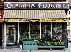 Olympia Florist R.I.P. Washington Heights, NYC (James and Karla Murray Photography) Tags: newyorkcity usa newyork photography rip storefront shops gothamist stores momandpop jamesandkarlamurray storefrontthedisappearingfaceofnewyork jamesandkarlamurraycom mugflickrpool