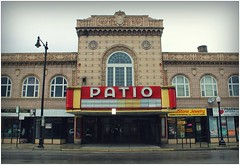 patio theater (BalineseCat) Tags: road park chicago movie theater palace patio irving portage