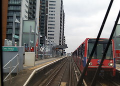 Docklands Light Railway  34 (chrisbell50000) Tags: light india london station train rail railway east docklands 34 chrisbellphotocom
