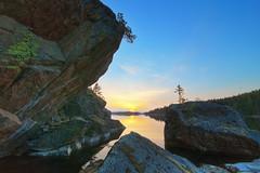 Sunset (Paatus) Tags: summer lake finland evening savonlinna saimaa pihlajavesi saimaamoments