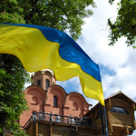 "Ukrainian flag fluttering<a href=""http://www.flickr.com/photos/28211982@N07/8953181032/"" target=""_blank"">View on Flickr</a>"