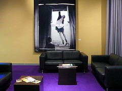 Lounge (leo1616) Tags: cinema freeassociation night carpet purple interior movies emptyseats project365
