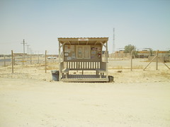 Bus Stop on COB Speicher (ibgrunt) Tags: iraq cob speicher tikrit